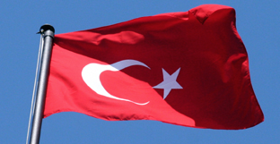 Turkish flag illustrating article Translating & interpreting in Turkish