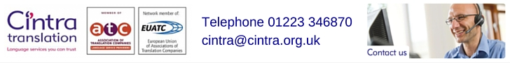 Cintra Translation contact details